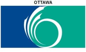 Ottawa's flag, where the majority of
