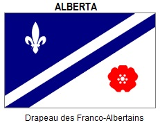 Flag of Francophone Alberta