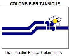Flag of Francophone British Columbia
