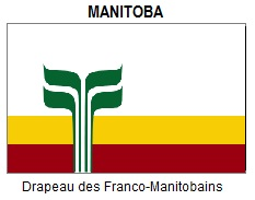 Flag of Francophone Manitoba