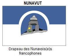 Flag of Francophone Nunavut