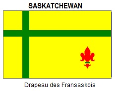 Flag of Francophone Saskatchewan