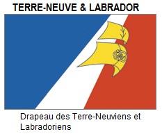 Francophone Newfoundland (& Labrador's) official flag.