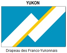Flag of Francophone Yukon