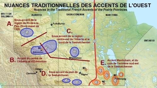 nuances accents français de l'ouest du Canada 1