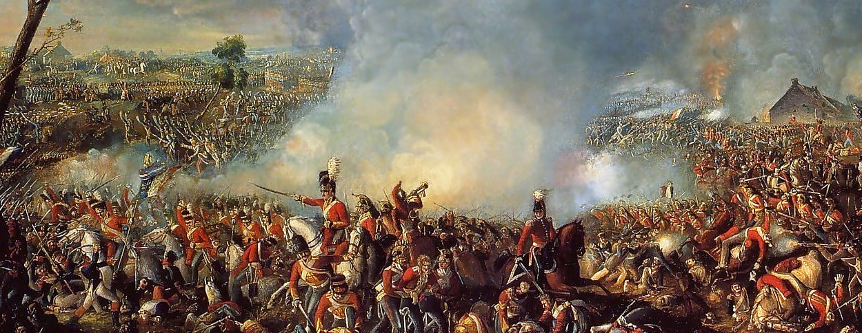 Image result for napoleon defeated at the battle of waterloo