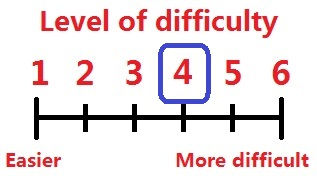 Difficulty levels 4