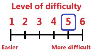 Difficulty levels 5